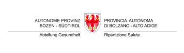 Logo Provinz Bozen abteilung Gesundheit